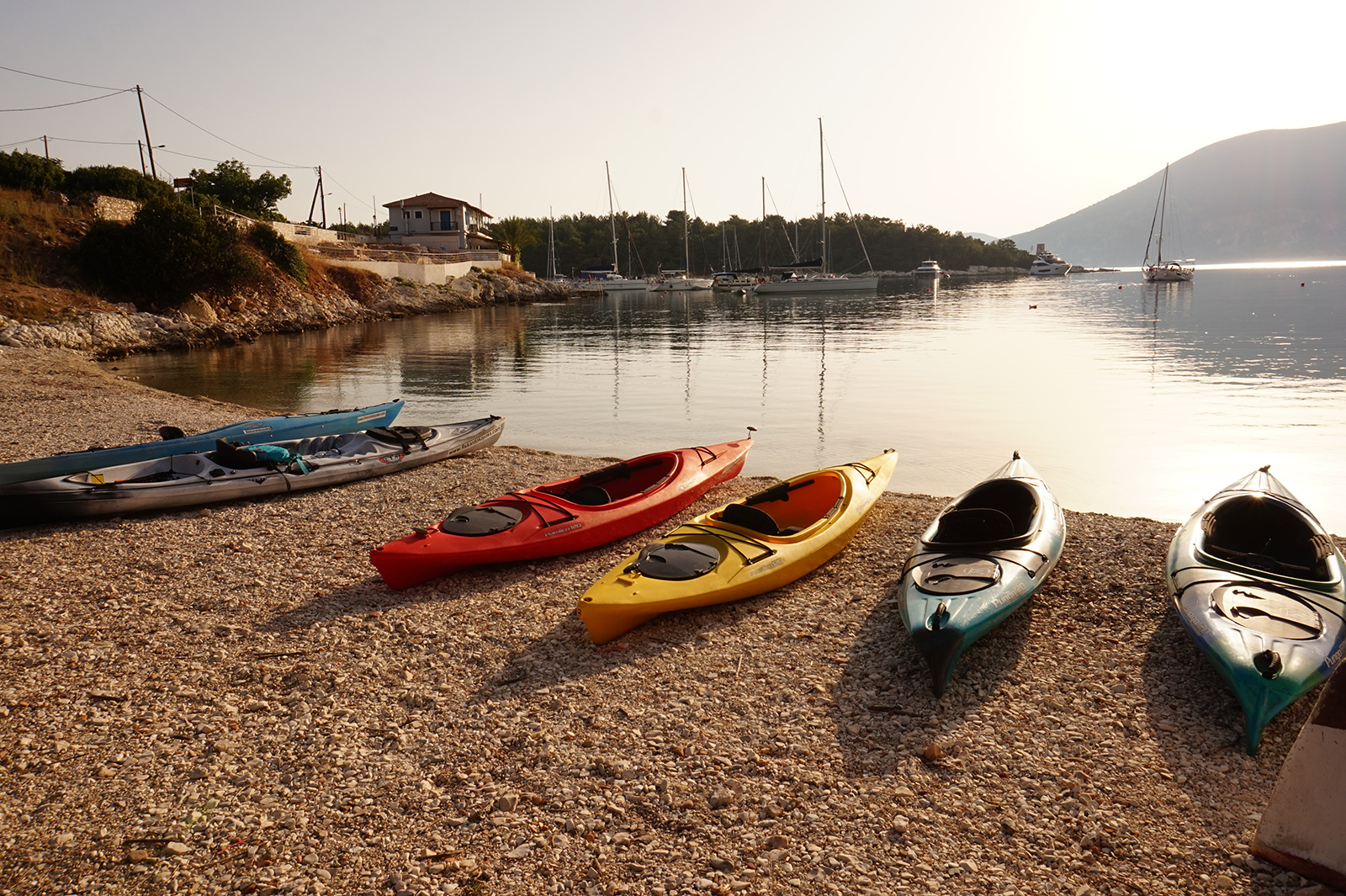 Kefalonia Sea Kayaking - Sea Kayak Kefalonia - Fiskardo Kayaks Kefalonia - Sea Kayaking Tours - Sea Kayak Rental Kefalonia - Kayaking Activities in Kefalonia Greece.